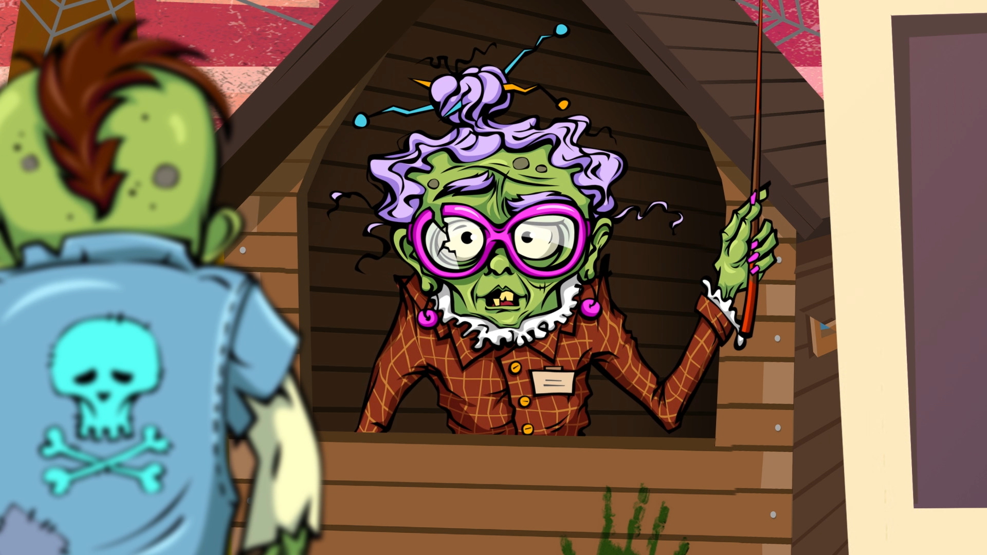zombie old lady 1